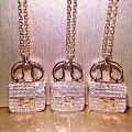 爱马仕包链,包治百病😊😊 18k金满钻,工艺精致,戴上就会爱不释手💎