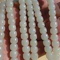 铭玉收藏---且末白玉老型珠108佛珠(送备珠)2580元