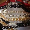 砗磲和珍珠小玩意儿