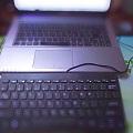 有了小键盘,霞霞再也不用担心我打错别字了。