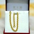 求购一条足金珍珠手链,可以是大福也可以是坛红师傅打的。