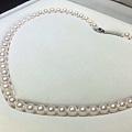 有拼珍珠的吗?一颗7-7.5的akoya不到20块钱。有证书。