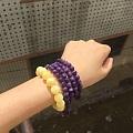 紫龙晶的佛珠评评美不美吧😄