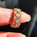 又收了一枚古董布契拉提正品戒指👻