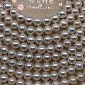 出镜面光珍珠项链