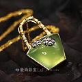彩色宝石 葡萄石 中国风 原创设计
