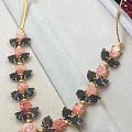 珊瑚翠玉项链