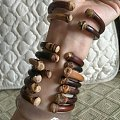小手围鸡血藤手镯14厘米手围为主 另外有12-16.5厘米手围
