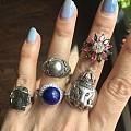 大白菜系列七——200元一个的戒指戒面手镯