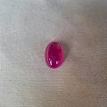 天然无烧素面红宝石2克拉+,您见过这么漂亮的素面红宝石吗