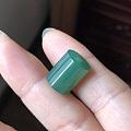 转翡翠几个小可爱,果冻黄元宝、蓝水桶珠、一对小花生、艳绿桶珠、辣绿小树叶
