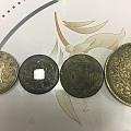 婆婆攒的钱币。