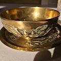 《福禄寿》黄铜碗