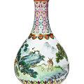 乾隆时期花瓶1.2亿元落锤 超过估价数十倍