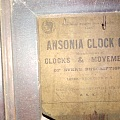 美国安索尼亚钟表公司1878年生产挂钟。