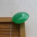【玉缘雅轩】6.20木那满色甜阳绿起胶蛋面,微信yyyx666