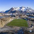 世界上最美的海上足球场