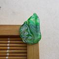 【玉缘雅轩】6.21冰种飘艳绿松鼠,微信yyyx666