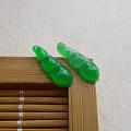 【玉缘雅轩】6.22好种飘阳绿连中三元一对,微信yyyx666