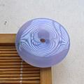 【玉缘雅轩】6.23冰紫满色飘花平安扣,微信yyyx666