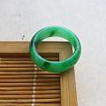 【玉缘雅轩】6.23飘艳绿18.1MM指环,微信yyyx666