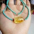 蜜蜡锁骨链