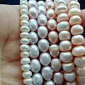 出点小金子,潮宏基,周大生,金至尊;珍珠项链