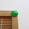 【玉缘雅轩】6.26好种满色阳绿蛋面,微信yyyx666