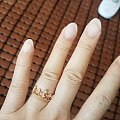 没忍住买了个价格一点都不美好的戒指