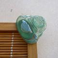 【玉缘雅轩】6.29高冰满色蓝绿水放光笑佛,微信yyyx666
