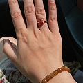 小红翡戒指