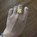 小女巫戒指到手了