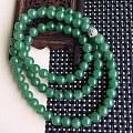 天然翡翠A货满绿饱满精美项链