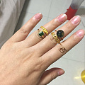 终于可以戴上三年前的戒指啦🎉