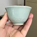 发几个手工仿古瓷的茶具