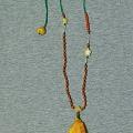 香喷喷的泼墨山水画——手工制作白蜜吊坠与星月小件挂链
