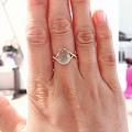 看看葡萄石戒指