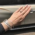 晒晒我的银手环,攒点积分早日升级可以发表情