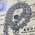 新货‼️带blue rose 蓝玫瑰日本大证 超稀有规格9.5-10mm,颜色...