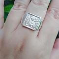 喜鹊登梅戒指