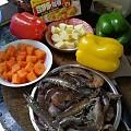 第一次做咖喱虾