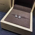 【耳钉03029】白18K金钻石耳钉