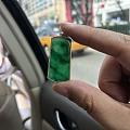 弄了一个小绿牌子 小四价位的 晒