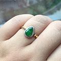 最近又收了个超级便宜的小戒指