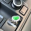 帝王绿翡翠如意头戒指