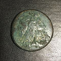 最近入手的一枚托勒密大铜币