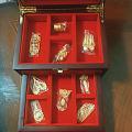 败家换金的小菜鸟前来报到啦,传承系列麒麟牌,婚礼九宝摆件,鱼莲,夏荷