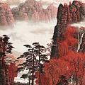"""""""白派山水""""甲天下丨白雪石清新俊逸、朴秀多姿的山水画,太美了!"""