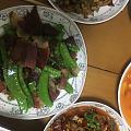 红烧肥肠,牛肉,炒鸭肫,好吧周末愉快