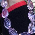 天然紫水晶颈链,